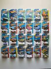 HOT WHEELS REGULAR TREASURE HUNT LOT 24 DIFFERENT VEHICLES NIB N MINT