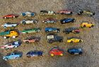 LOT OF 18+ LOOSE DIECAST 1 64 CARS TRUCKS ETC AND Hot Wheels Car Case
