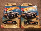 Lot Of 2 Hot Wheels 2018 Super Treasure Hunt 70 Ford Escort RS1600 Bad Cards