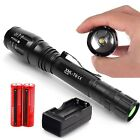 Police Flashlight 1200 Lumens T6 LED Flahslight 5 Modes Flashlight Torch Tact...