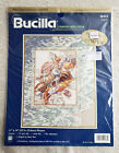 Bucilla Counted Cross Stitch Kit Tranquility Seashells Foamy Waves Beach 42433 N