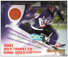 2001-02 Upper Deck Prospect Game-Used CHL Hockey Hobby Box