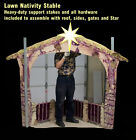 STABLE 76 in tall for NATIVITY SCENE OUTDOOR LAWN ART