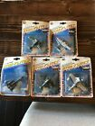 Lot 5 Zee Toy DYNA FLITES Die Cast Metal Plane Jets Helicopters Vintage 90s 80s