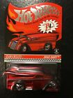 Hot Wheels Red Line Club 2014 Exclusive Red Drag Dairy Club Car 2395 3500