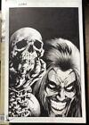 Weird Worlds 5 Original Comic Book Cover Art One of the Best Lobo Covers Ever
