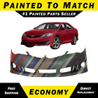 Painted To Match - Front Bumper Cover Replacement 2012 2013 2014 Toyota Camry Se