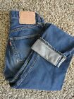 VTG LEVIS REDLINE SINGLE STITCH 501 JEANS 6 button 28 X 28 Nice no big e