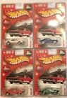 Hot Wheels 2004 Holiday Rods 67 CAMARO  Set of 4  Super Fast Shipping  24A