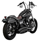 Vance  Hines Super Radius Exhaust Black