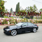 2016 BMW 6 Series 650i Gran Coupe 2016 650i Twin Turbo V8 Gran Coupe M Package 7800 Miles 20 Wheels M
