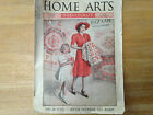 1939 Home Arts Magazine - June isssue Sewing Publication Back Issue, antique