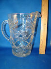 Large Water Ice Tea Pitcher Star Of David EAPC Early American 60 oz. EAPC @ 17