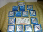 LOT 18 ASSORTED SCHABAK SILVER WING 1600 DIECAST AIRPLANES DISTRESSED PACKAGES