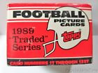 1989 Topps Traded Football Cards 4