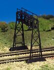 New in Box HO  Scale PLASTICVILLE  SIGNAL BRIDGE  by Bachmann