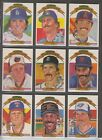 1983 Donruss Complete Set W Mantle Puzzle.