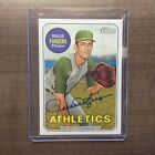2018 Topps Heritage High Number Rollie Fingers Real One Autograph