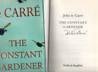 The Constant Gardener by John Le Carre Hardback 2001 SIGNED