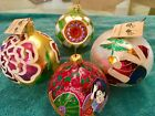 VINTAGE COLLECTIBLE CHRISTMAAS ORNAMENTS