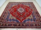 11.8X8.9 1940's EXQUISITE MINT HAND KNOTTED ANTQ TRIBAL WOOL LILIHAN PERSIAN RUG