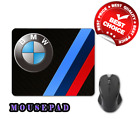 Hot !! a BMW LOGO good mouse pads pc / leptop accessories