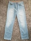 DG Dolce  Gabbana Ittierre Button Fly Wash Distressed Mens Jeans 34 48