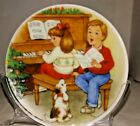 Hallmark Keepsake Ornament 1992 Sweet Holiday Harmony Collectors Plate W/stand