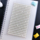 Scrapbook Imitation Pearls Stickers Acrylic Self Adhesive Accessories Decoration