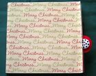 Handcrafted Merry Christmas Themed Paper Bag Photo Album Holds 6 Photos