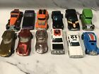 VINTAGE HOT WHEELS CARS MIXED COLLECTION Lot Of 12 With Case Lk