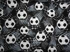 Soccer Ball Cotton Fabric Sports material Sports QuiltDIY Home Decor
