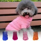 Pet Dog Puppy Warm Jumper Sweater Clothes Puppy Cat Knitwear Knitted Winter Coat