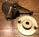 COMPLETE CRANKSHAFT AND CLUTCH PLATE WARDS 150 D + 250 D MOPED SCOOTER NOS
