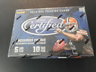 2014 PANINI CERTIFIED FOOTBALL FACTORY SEALED HOBBY BOX 10 PACKS