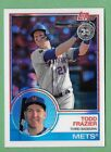 TODD FRAZIER 2018 Topps Update 1983 CHROME Silver Pack Refractor METS 124