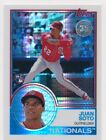 JUAN SOTO 2018 Topps Update 1983 CHROME Silver Pack Refractor NATIONALS RC 134