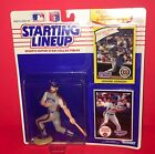 1990 Kenner SLU Starting Lineup Figure Howard Johnson With Baseball Cards