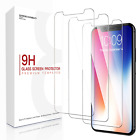 3x For iPhone 11 Pro 7 8 Plus X Xs Max XR Tempered GLASS Screen Protector Lot
