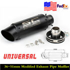 Universal Inlet 36-51mm Stainless Steel Motorcycle Modified Exhaust Pipe Muffler