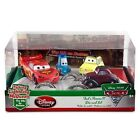 Disney Store Thats Amore Diecast Cars 2 W Talking Lightning Mcqueen Guido 4 Set