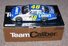 2002 TEAM CALIBER JIMMIE JOHNSON 48 LOWES OWNERS BANK ROOKIE DIECAST CAR 1 504