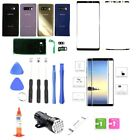 Samsung Galaxy Note 8 N950 Front Screen Glass Back Glass Replacement Kit