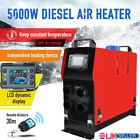 5000W 12V Air Diesel Heater 4 Holes LCD Monitor PLANAR For Trucks Bus Car Boats