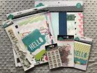 Heidi Swapp  Mixed Papers and Embellishments Lot