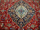 10X13 1940's GORGEOUS HAND KNOTTED 70+YRS ANTQ GOLD WASHED KASHANN PERSIAN RUG