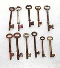 Joblot 11 old keys LArge and small Metal Upcycle Collect Craft Longest 11cm B16