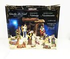 Kirkland Signature Nativity 13 Piece Handpainted Set