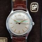 Vintage Classic GIRARD PERREGAUX Automatic WATCH w/BOX ~ Stainless