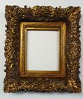 Picture Frame 8x10 Vintage Antique Style Ornate Baroque Bronze Gold w GLASS 256G